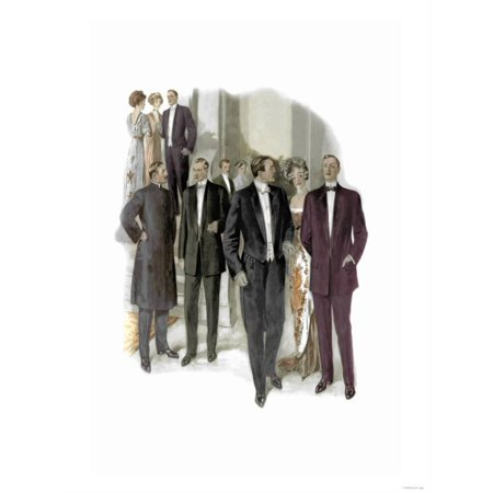 Formal Occasion Print Wall Art