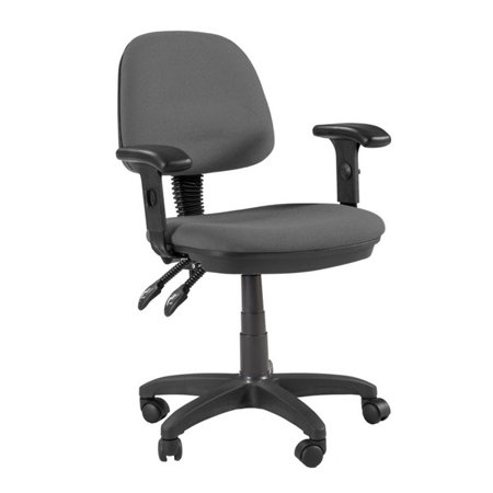 Martin Universal Design Martin Feng Shui Desk Height Chair in Grey