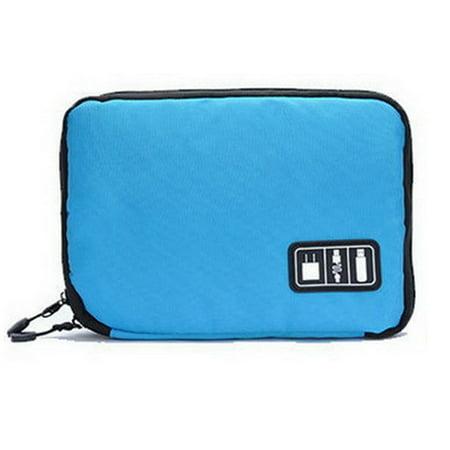 Fancyleo Cable Organiser Bag Electronics Accessories Case Gadget Pouch Travel (Best Business Travel Gadgets)