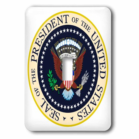 3dRose Seal of the President of the USA, 2 Plug Outlet Cover