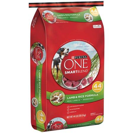 Purina ONE Lamb & Rice Formula Large Breed Dry Dog Food, 44 (Kay Lamb)