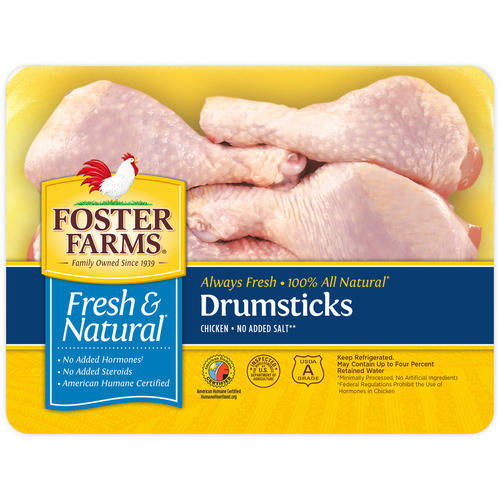 Foster Farms Chicken Drumstick , 1.5 - 2.3 lbs