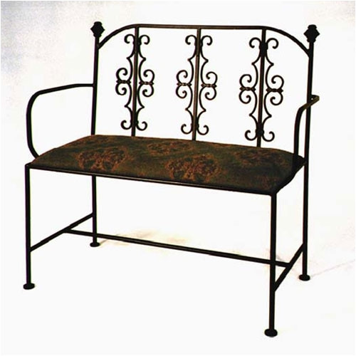 Grace Collection Gothic Loveseat Bench