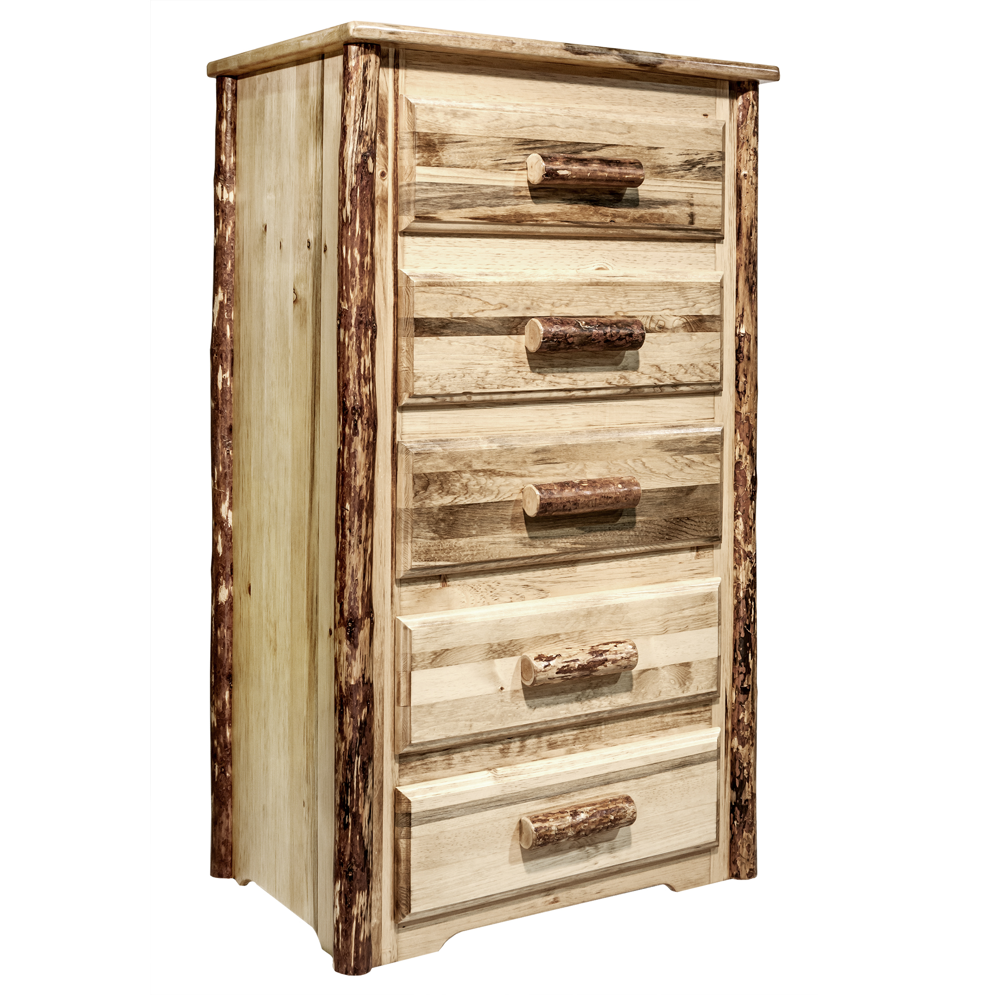 Glacier Country Collection 5 Drawer Chest of Drawers