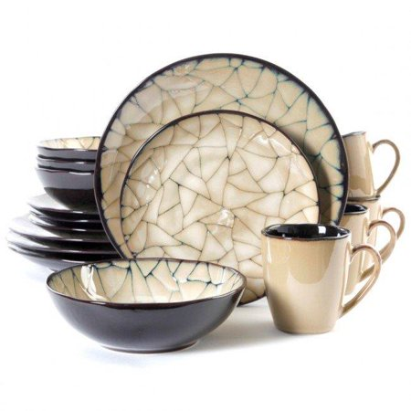 - Elite Zambezi Dinnerware Set, Cream