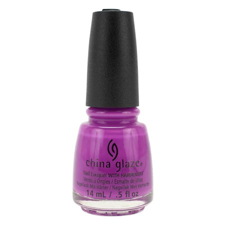 China Glaze .5oz Nail Polish Lacquer Electric Nights Collection Purple, PLUR-PLE, (China Newport Collection)