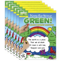 Boost Keep The Scene Green Coloring Book Grades 1-2, Pack of 6