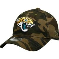 Jacksonville Jaguars New Era Youth Core Classic Woodland Camo 9TWENTY Adjustable Hat - Camo - OSFA