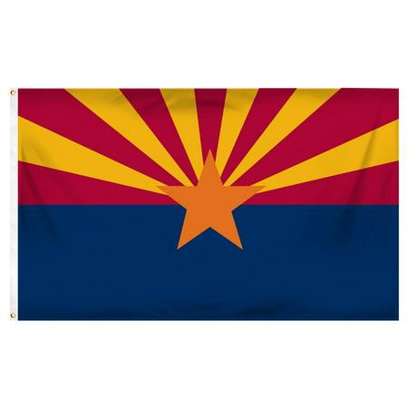 Arizona 3ft x 5ft Printed Polyester Flag ()
