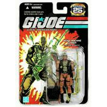 GI Joe 25th Anniversary Wave 4 Roadblock Action Figure (Gi Joe Roadblock)