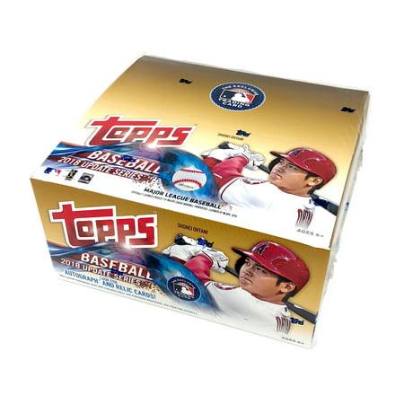2018 Topps Baseball Update Series Retail Display Box