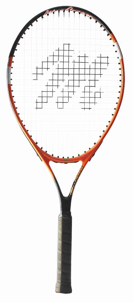 "MacGregor Recreational Tennis Racquet 27""L 4 3 8"" Grip (Orange Black) by BSN Sports"