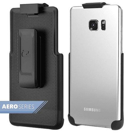 Samsung Galaxy Note 5 Spring Clip Belt Holster - Case Free Design (By Encased) (Spring Belt Clip)