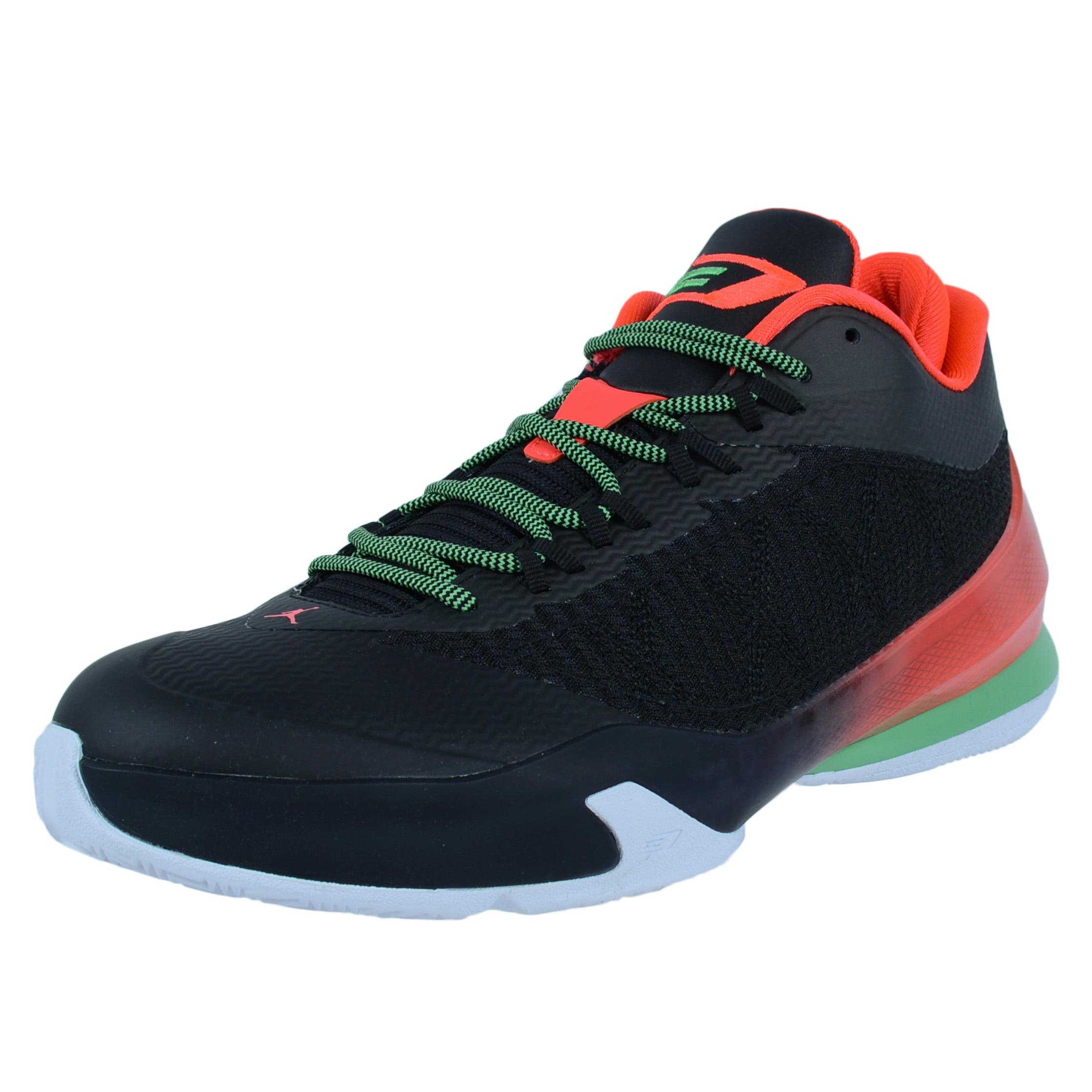 Nike JORDAN CP3.VIII BASKETBALL SHOES BLACK LIGHT GREEN S...