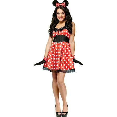 Princess Jasmine Red Halloween Costume (Miss Mouse Adult Halloween)