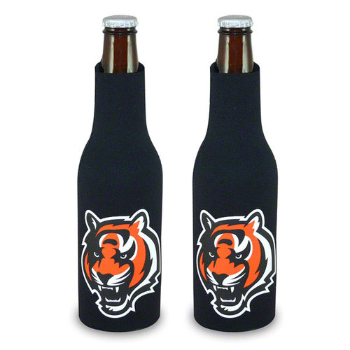 Cincinnati Bengals Official NFL  Insulated Coozie Bottle Cooler by Kolder