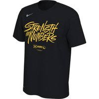 229110eaf4c Product Image Golden State Warriors Nike 2019 NBA Playoffs Bound Team  Mantra Dri-FIT T-Shirt