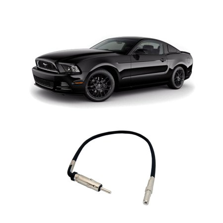 Ford Mustang 2007-2014 Factory Stereo to Aftermarket Radio Antenna Adapter Plug ()