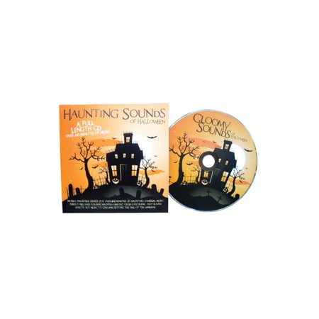 Morbid Enterprises Haunting Sounds of Halloween CD - Classic Halloween Party Music