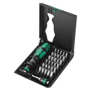"WERA Multi-Bit Screwdriver,30in1,4-11/16"" 5057110001"
