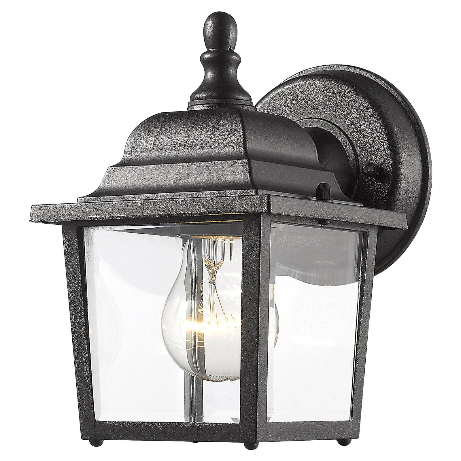 Z-Lite Waterdown 1 Light Outdoor Wall Light in Black