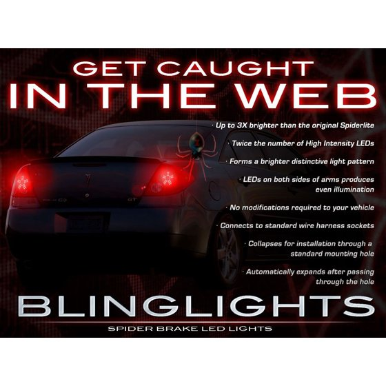 Pontiac G6 Led Light Bulbs For Taillamps Taillights Tail Lamps Lights 2005 2006 2007 2008 2009 2010