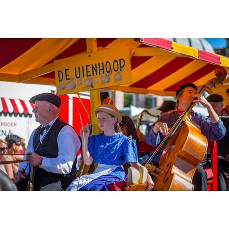 LAMINATED POSTER Schagen Costume West Frisian Market Parade Folklore Poster Print 24 x 36](Key West Halloween Parade)