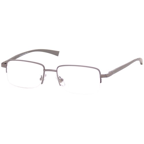 Foster Grant Men's Metal Reading Glasses, Gunmetal