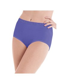 e394bf1b753a Hanes Women's Nylon Brief Panties 6-Pack - PP70AS
