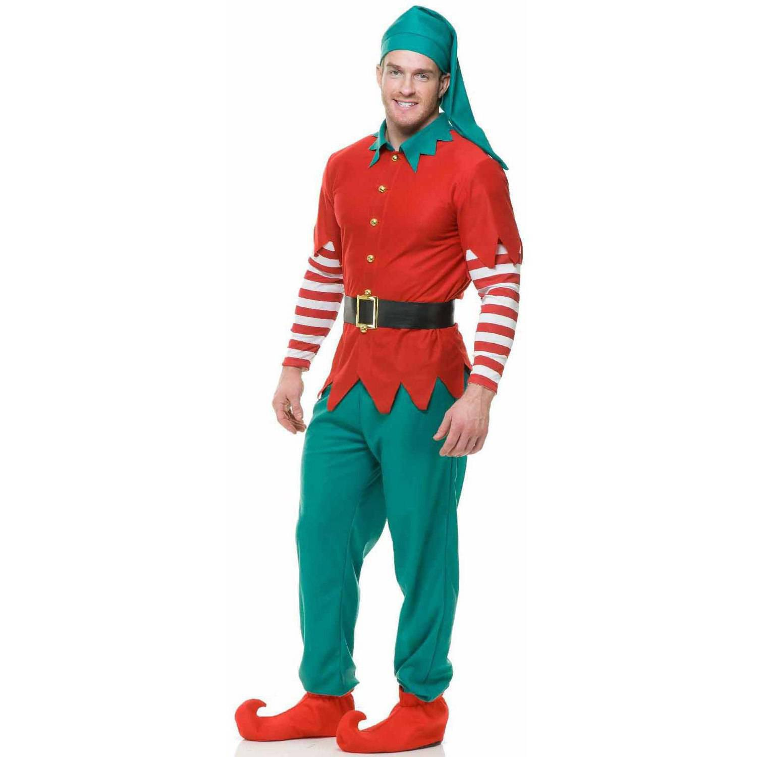 Santau0027s Helper Elf Womenu0027s Adult Christmas Costume One Size 8-14 - Walmart.com  sc 1 st  Walmart & Santau0027s Helper Elf Womenu0027s Adult Christmas Costume One Size 8-14 ...