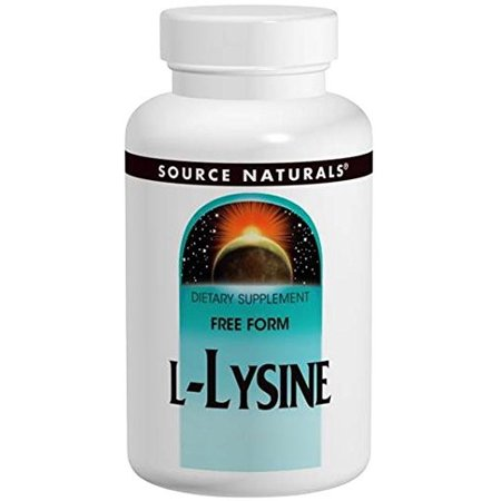Source Naturals L-Lysine 1000mg, 100 tablet