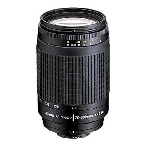 Nikon Nikkor 70-300mm f/4-5.6G AF Zoom Lens (Black)