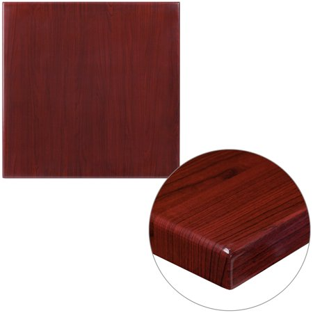 Flash Furniture 24'' Square Resin Table Top, Multiple Colors ()