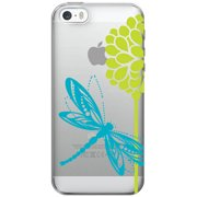 OTM Critter Prints Clear Phone Case for Apple iPhone 6, Dragonfly