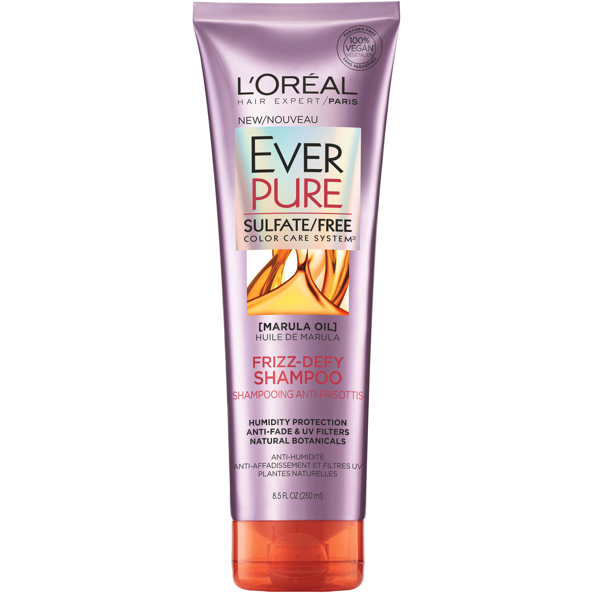 L'Oreal Paris EverPure Frizz Defy Shampoo, 8.5 Fl Oz