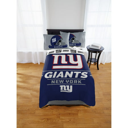 NFL New York Giants Monument Twin or Full Comforter, 1 Each - New York Giants Jersey Comforter