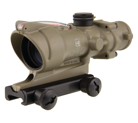 Click here to buy Trijicon ACOG 4x32 Scope With TA51 Mount Dual Illuminated Red Crosshair .223 Bal by Trijicon.