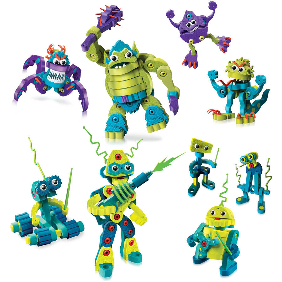 Bloco Monsters and Robots Scholastic Set by Bloco Toys