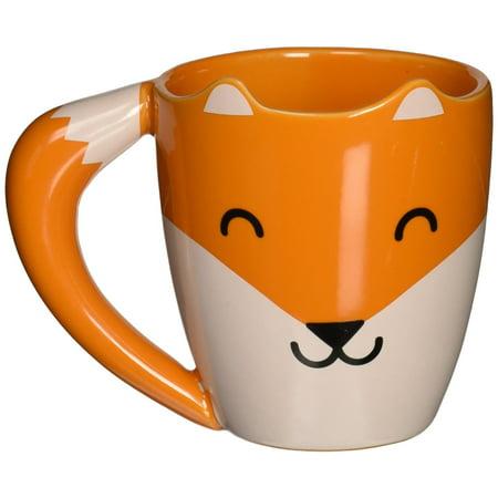 Fox Shaped Ceramic Mug