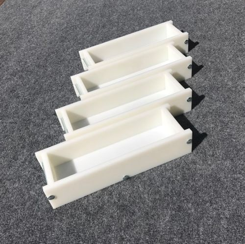 Lot of 4 HDPE Soap Loaf Making Mold 3 - 4 lb per mold CP MP HP Oven Safe