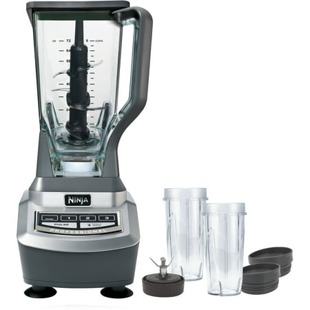 Ninja Professional Blender with Single Serve Cups (BL740) ()