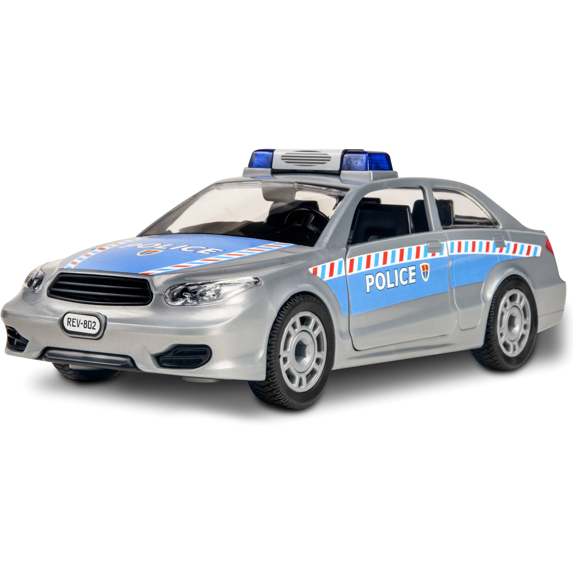 Revell Junior Kit Police Car Plastic Model Kit
