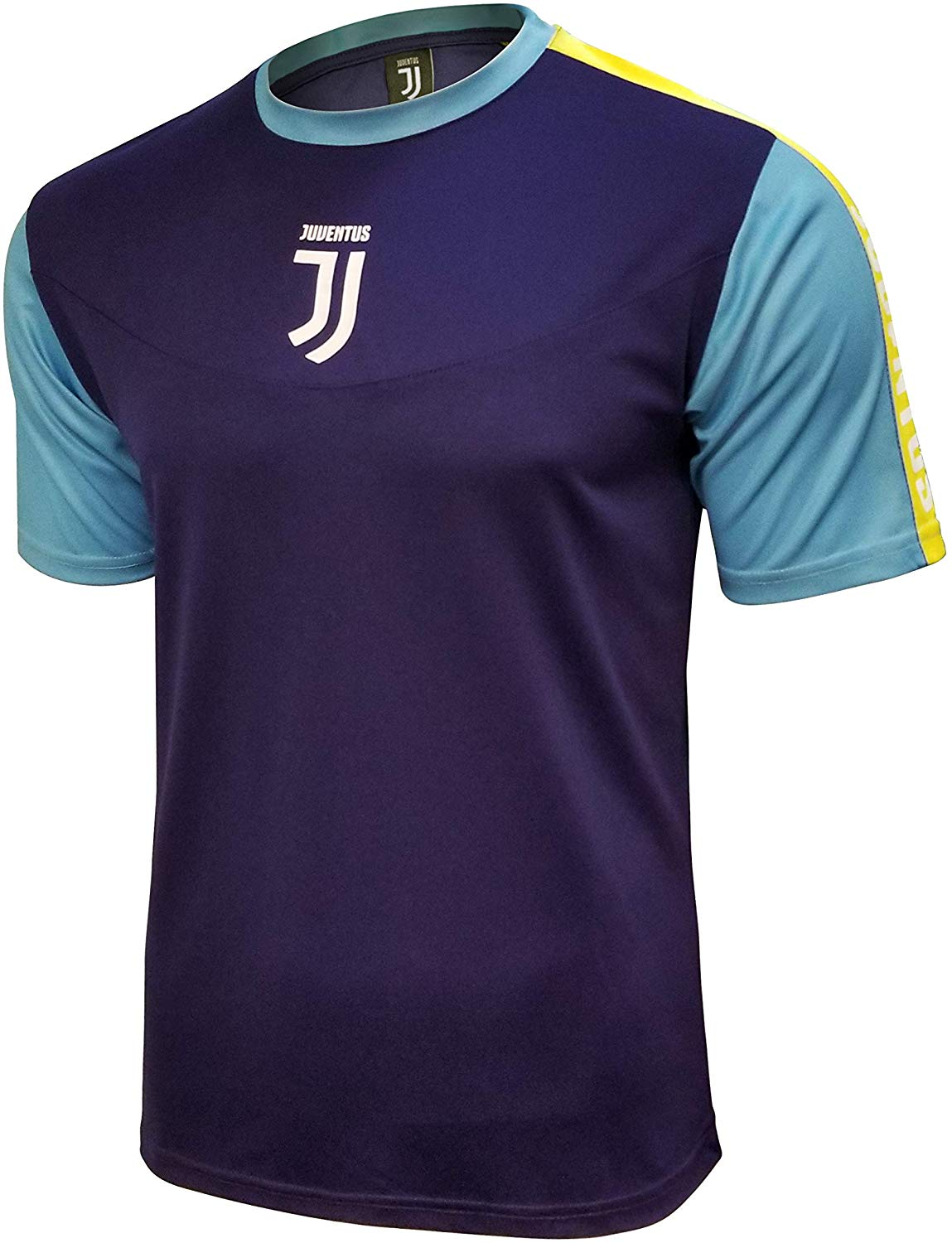 icon sports juventus f c official adult soccer poly shirt jersey 03 large walmart com walmart com walmart