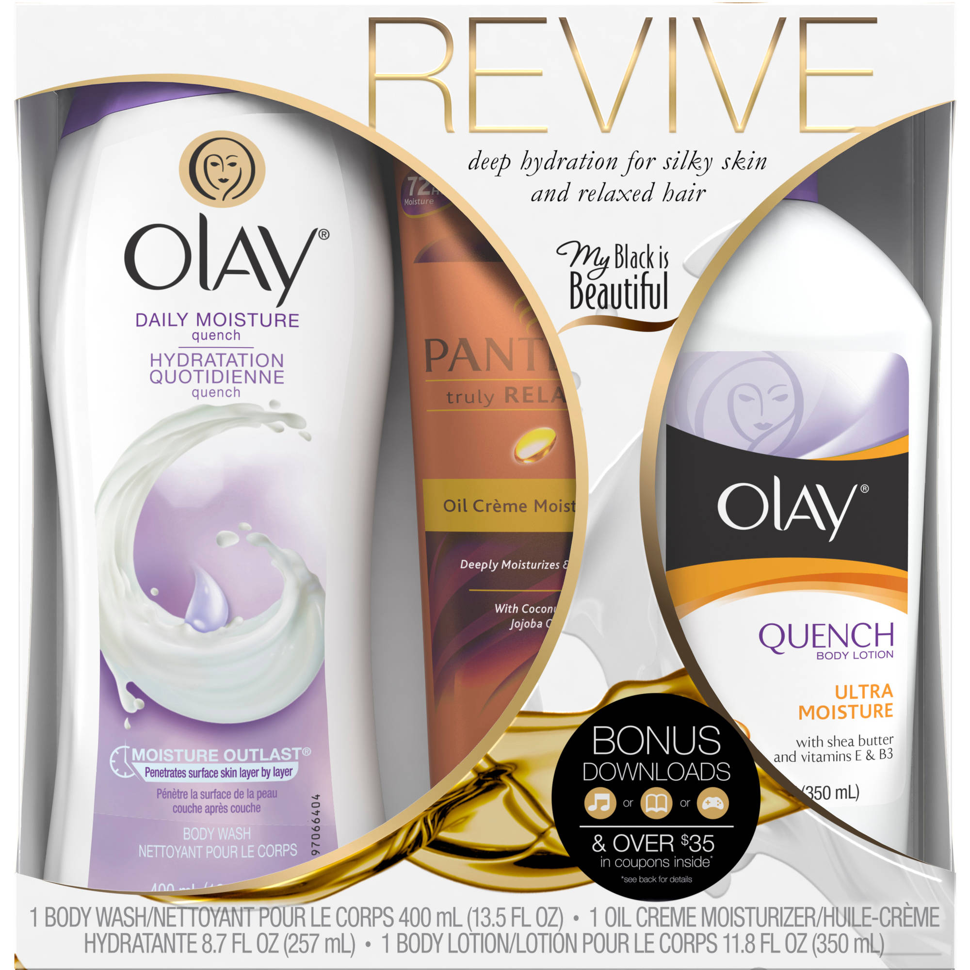 Olay Revive Collection Gift Set, 3 pc