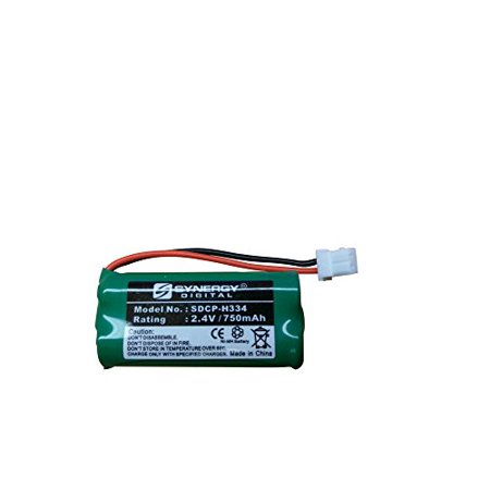 Att EL51203 Cordless Phone Battery SDCP-H334 - Ni-MH 2.4 Volt, 750 mAh, Ultra Hi-Capacity Battery - Replacement Battery for American Telecom, At&t & Vtech Cordless Phone Batteries