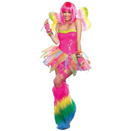 Rainbow Fairy Adult Costume - Rainbow Fairy Costumes