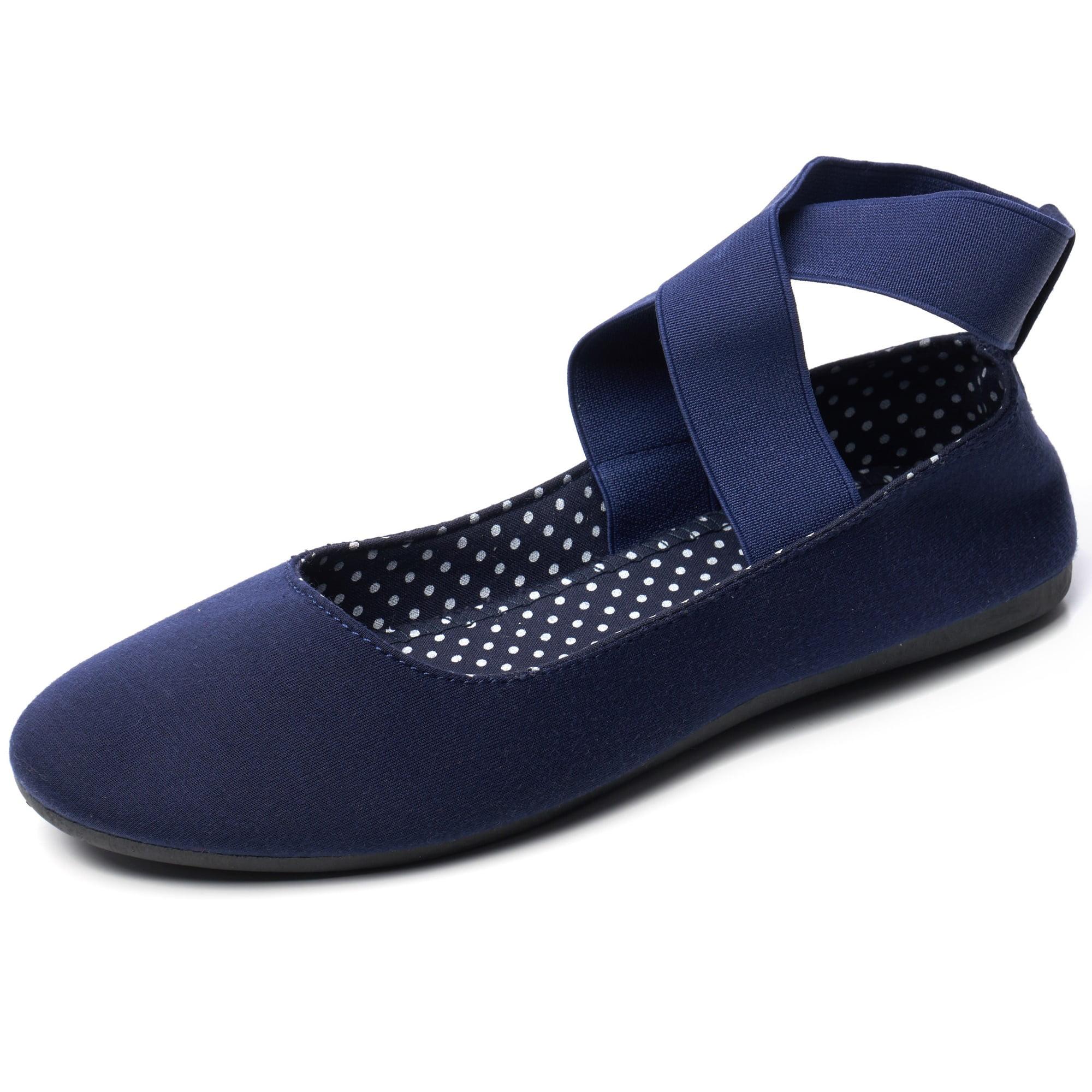 Blue All Womens Flats - Walmart.com