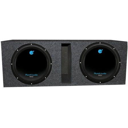 Square Vented Sub Box (Planet Audio 12