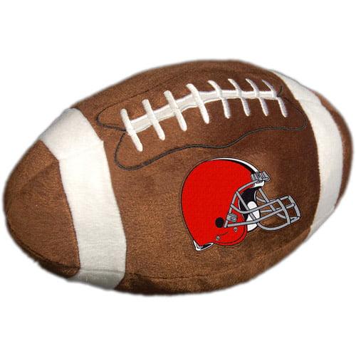 NFL Plush Football Pillow, Cleveland Browns