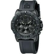 Luminox Men's Navy Seal Blackout Chronograph Diver's Watch A.3081.BO